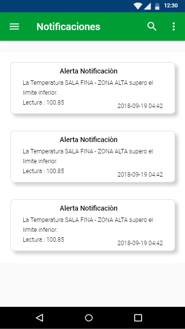 Notificaciones incontrol